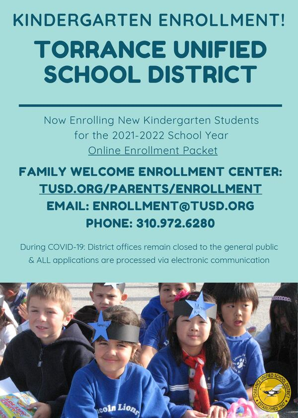 Torrance Unified School District Calendar 2021-2022 Images