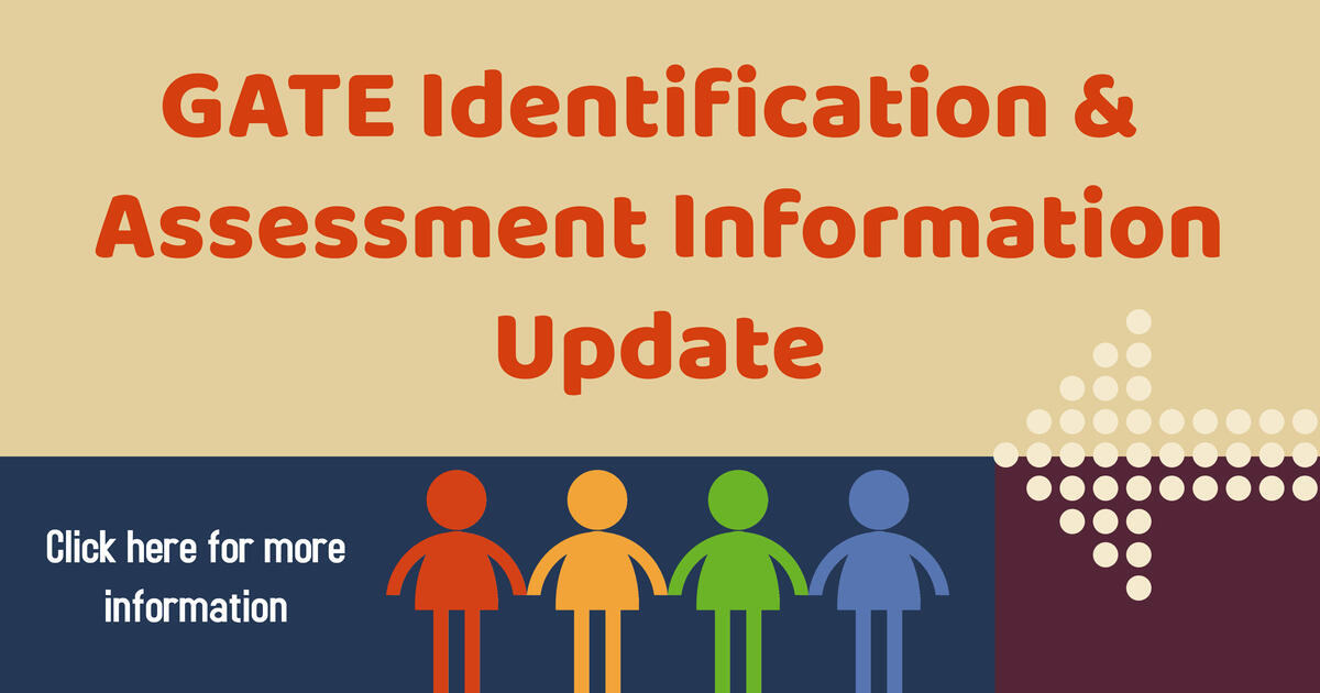 Gate information  and assessment update. Click banner