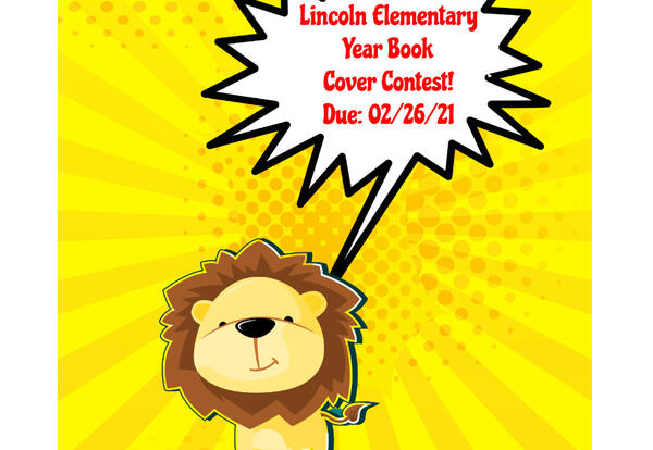 yearbook cover contest. Entries due 02/26/21