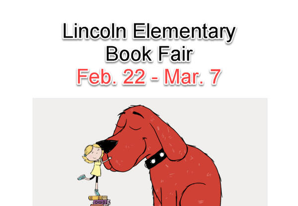 Book Fair Online February 22 - March 7