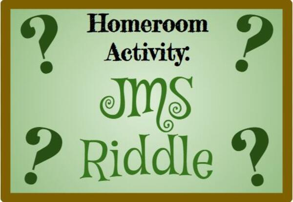 JMS Riddle Results & Winners from 5/6