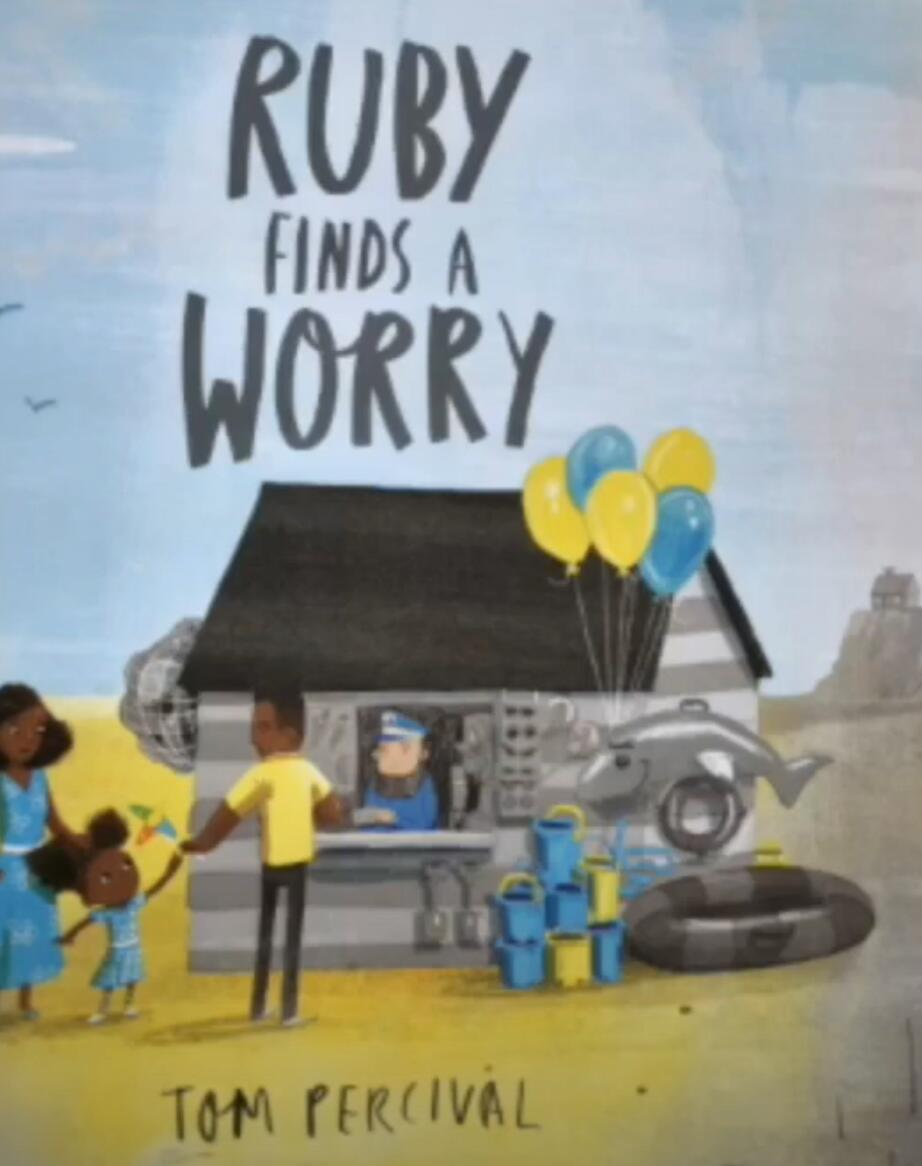 Book cover of Ruby finds a worry