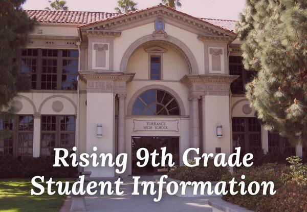 A view of the Torrance High School main building.