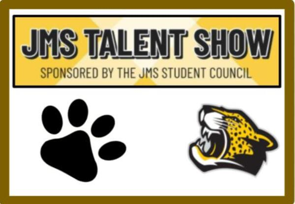 JMS Talent Show Submissions due May 23rd
