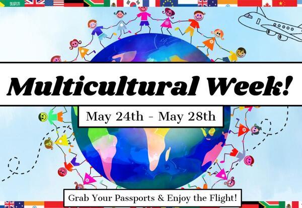 Multicultural Week at JMS: 5/24 - 5/28