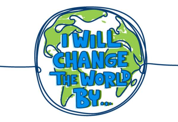 i will change the world reflections