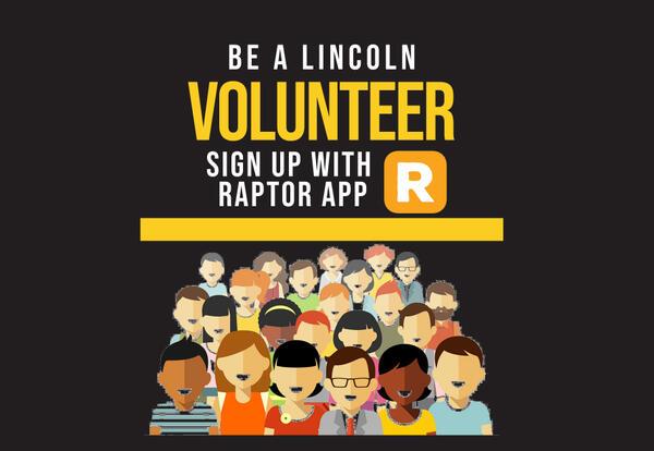 Be a volunteer