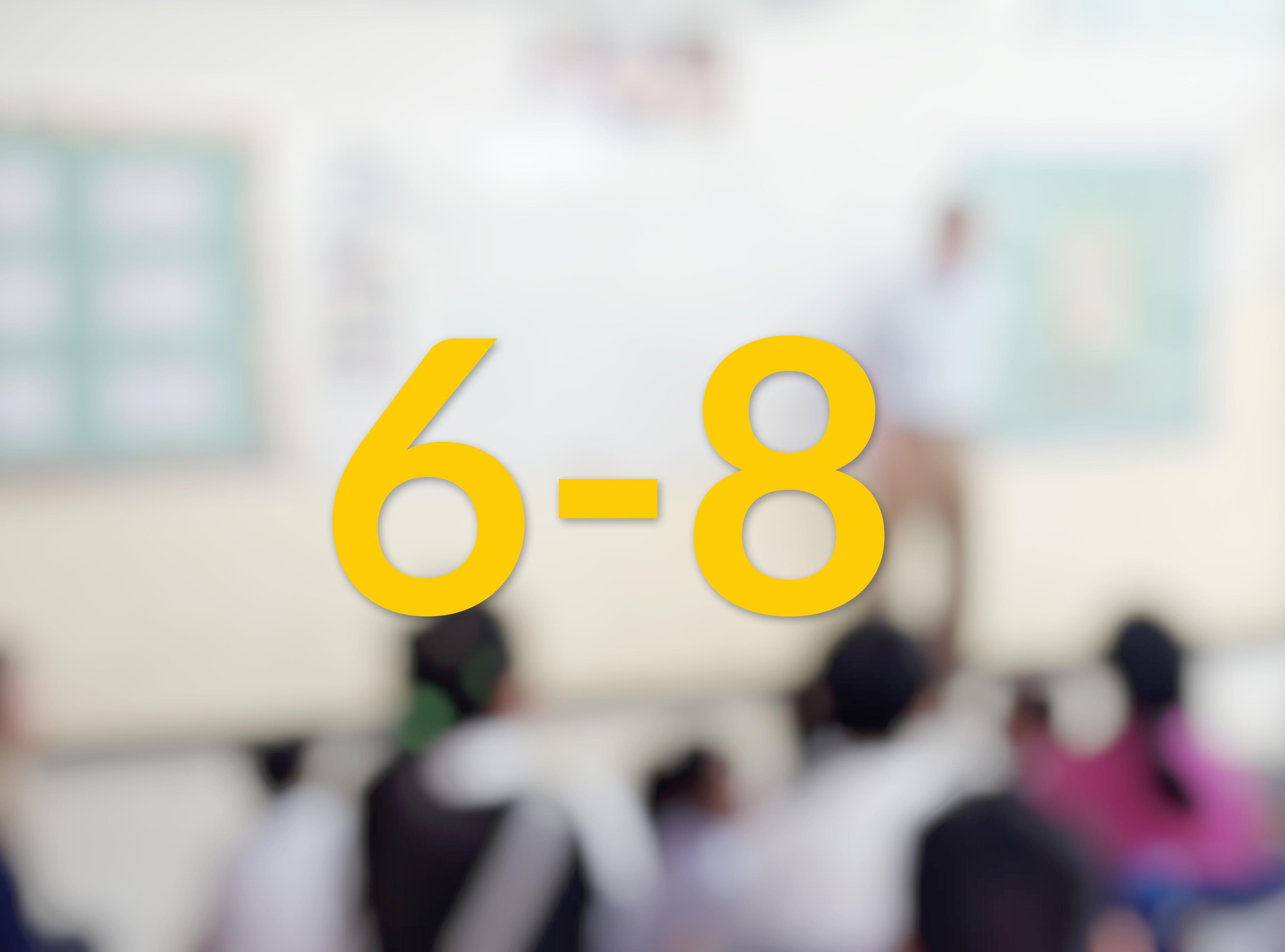 6-8 Year Schools