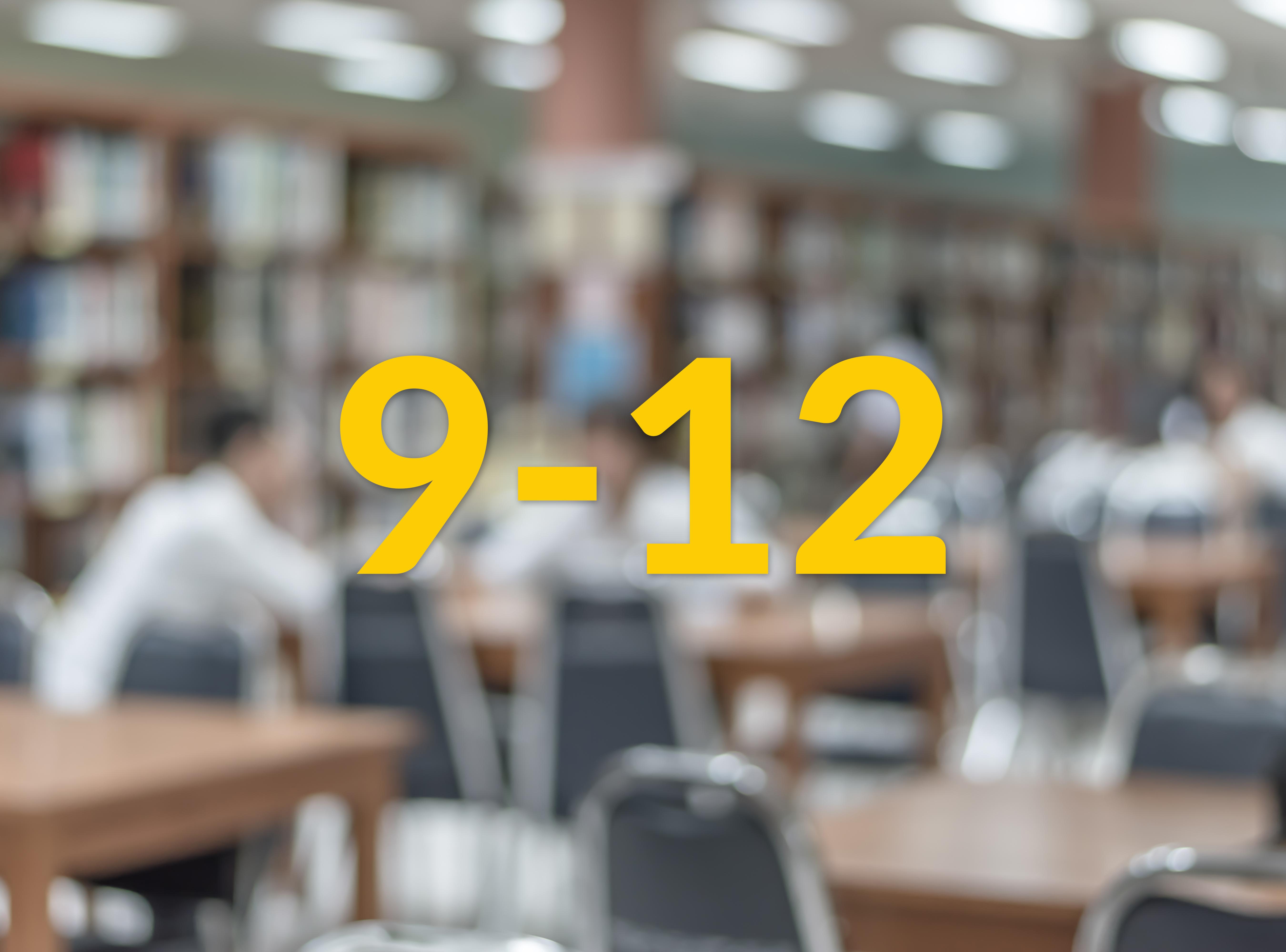 9-12 year Schools