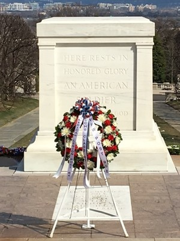 Monument with Wreath
