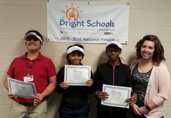Decatur Middle School Students Named National Finalists in the Bright Schools Competition