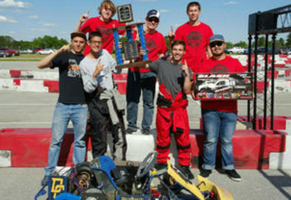 DCHS Engineering Design and Development Takes 1st and 3rd at EV Grand Prix
