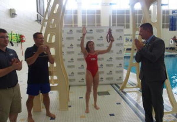 Diving Club and Swim Lessons at the Decatur Township Natatorium