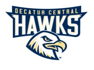 Decatur Central Hawks Logo