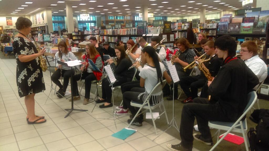 Oct 12, 2017 Band and Choir Performance at BN