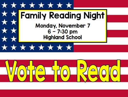 Vote to Read Poster