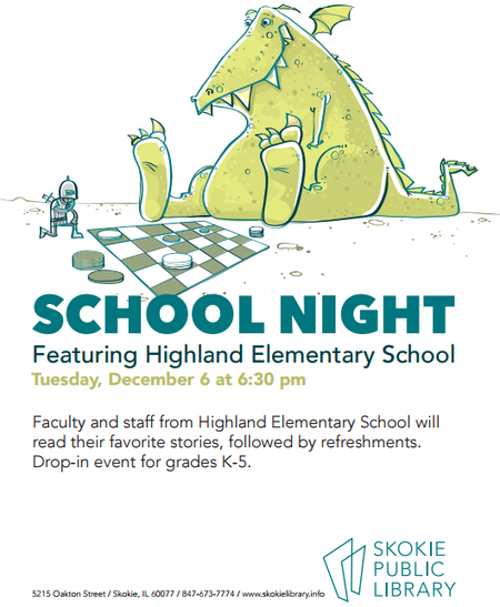 School Night Poster