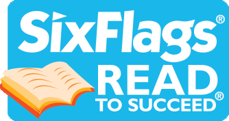 Six Flags Read to Succeed Logo