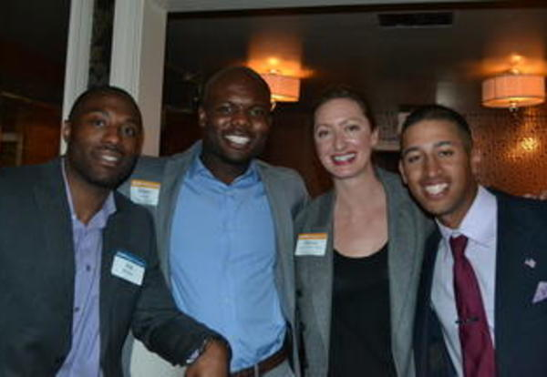 Young Professionals Host Networking Event