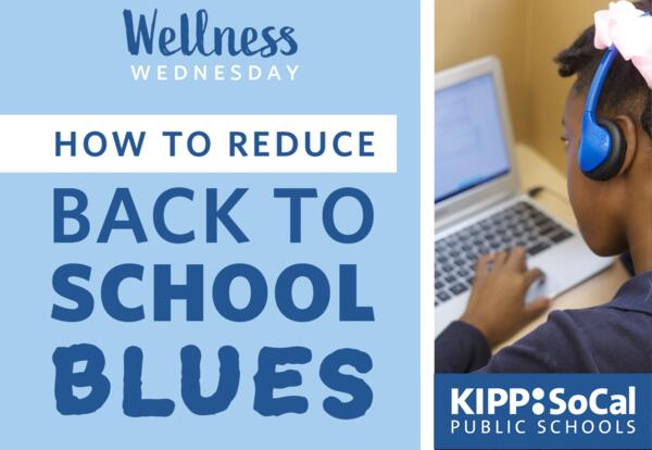 How to Reduce the Back-to-School Blues