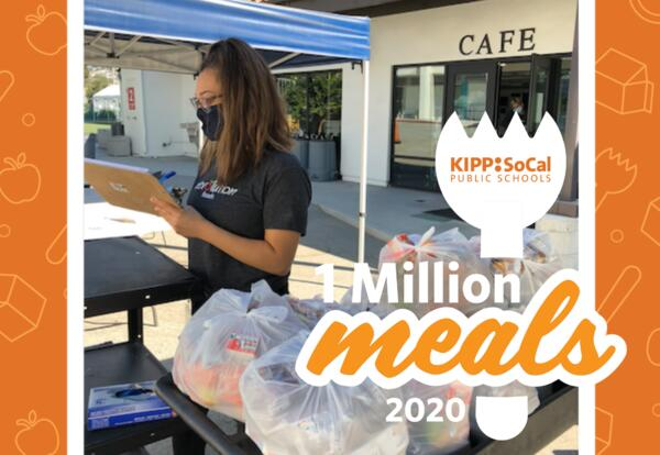 A Day in the Life: Snapshot of Meal Distribution at KIPP SoCal Public Schools