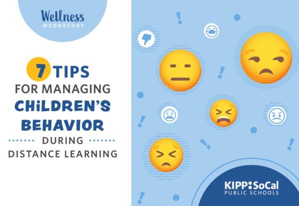 7 Tips for Managing Children's Behavior during Distance Learning
