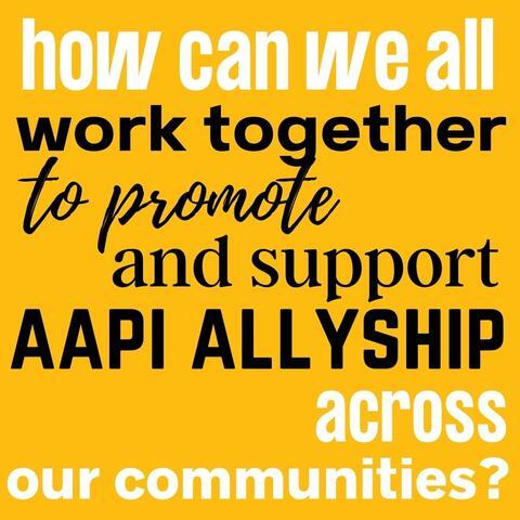 AAPI Allyship