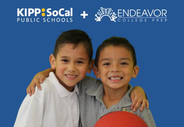 KIPP SoCal Welcomes Endeavor College Prep Into Our Family
