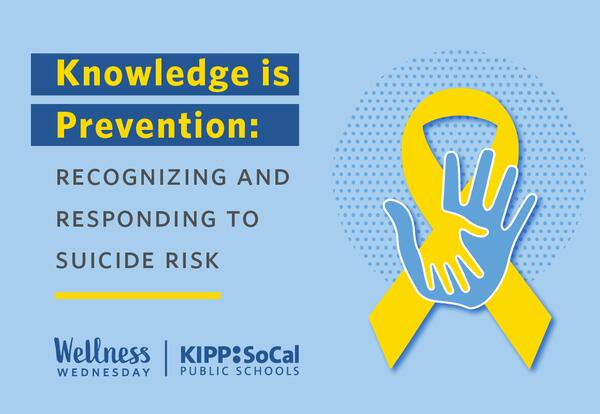 Knowledge is Prevention: Recognizing and Responding to Suicide Risk