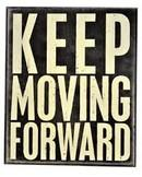 Keep moving forward Image