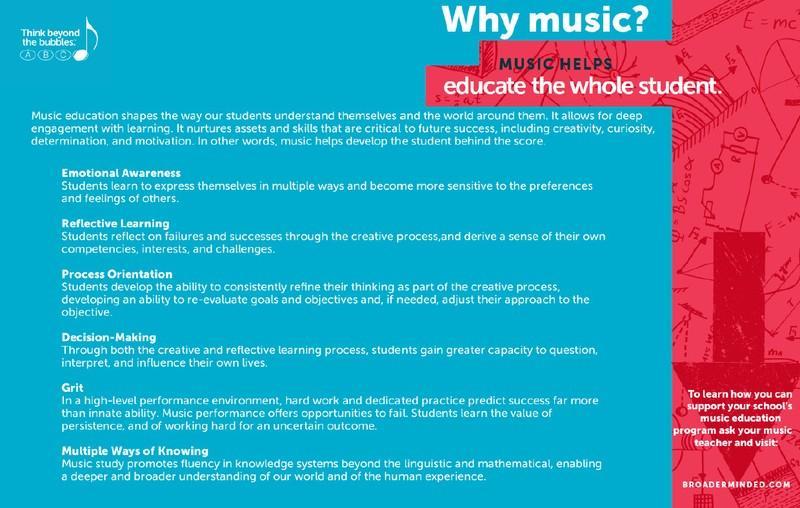 Advocacy | Instrumental Music