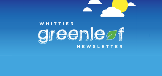 Greenleaf Newsletter: May 2018 Edition