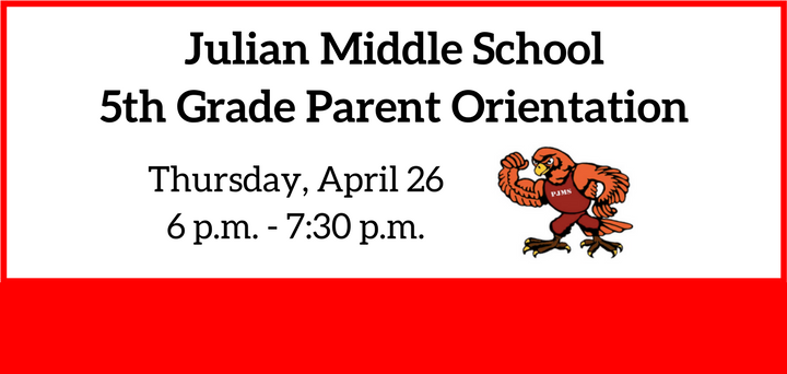 5th Grade Parent Orientation Flyer