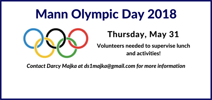 Mann Olympic Day Flyer