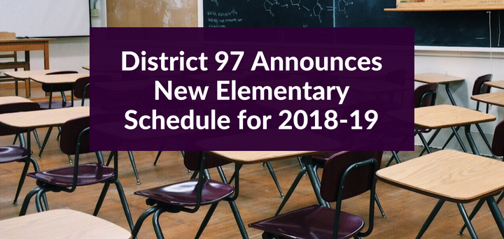 Information about 2018-19 Elementary Schedule