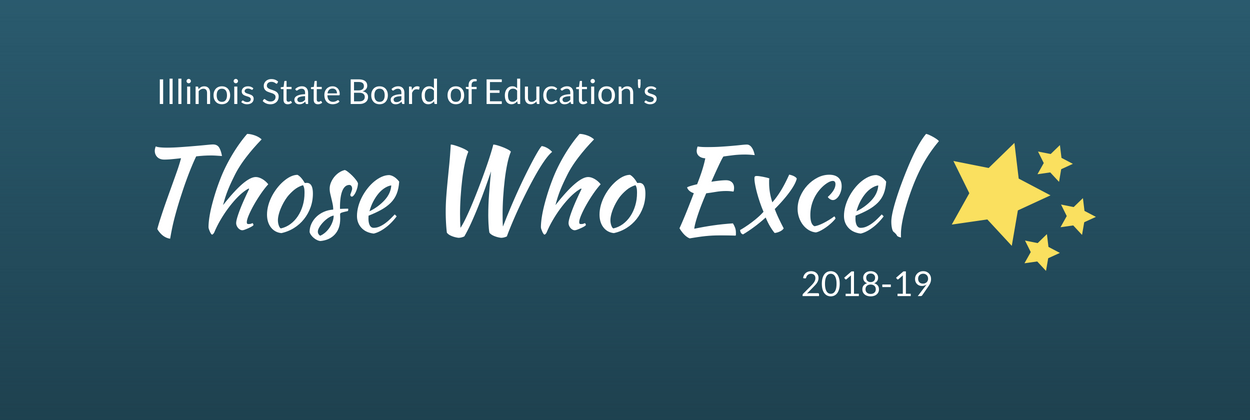 """Those Who Excel"" Award Winners"