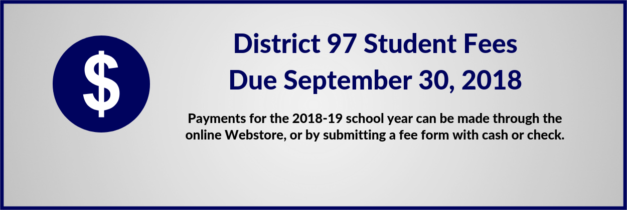 District 97 Fees Webpage