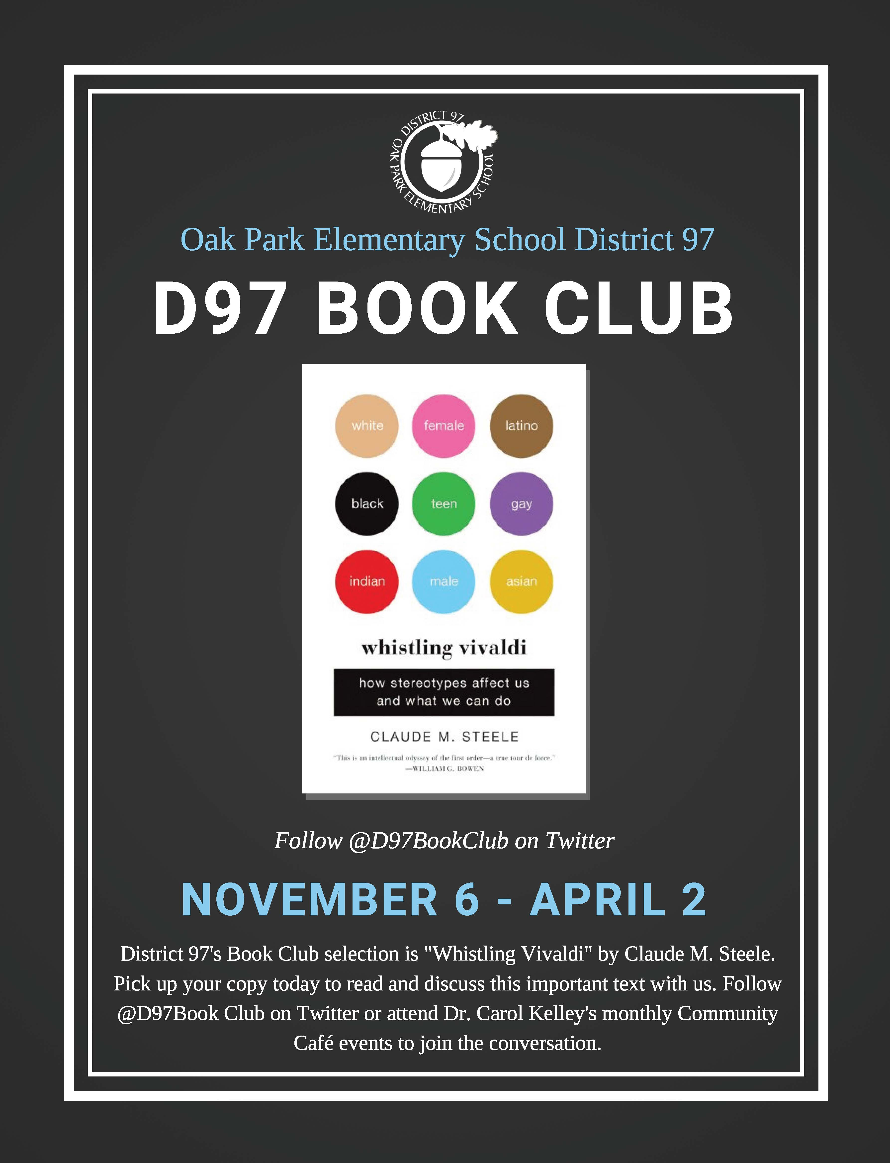 D97 book club poster