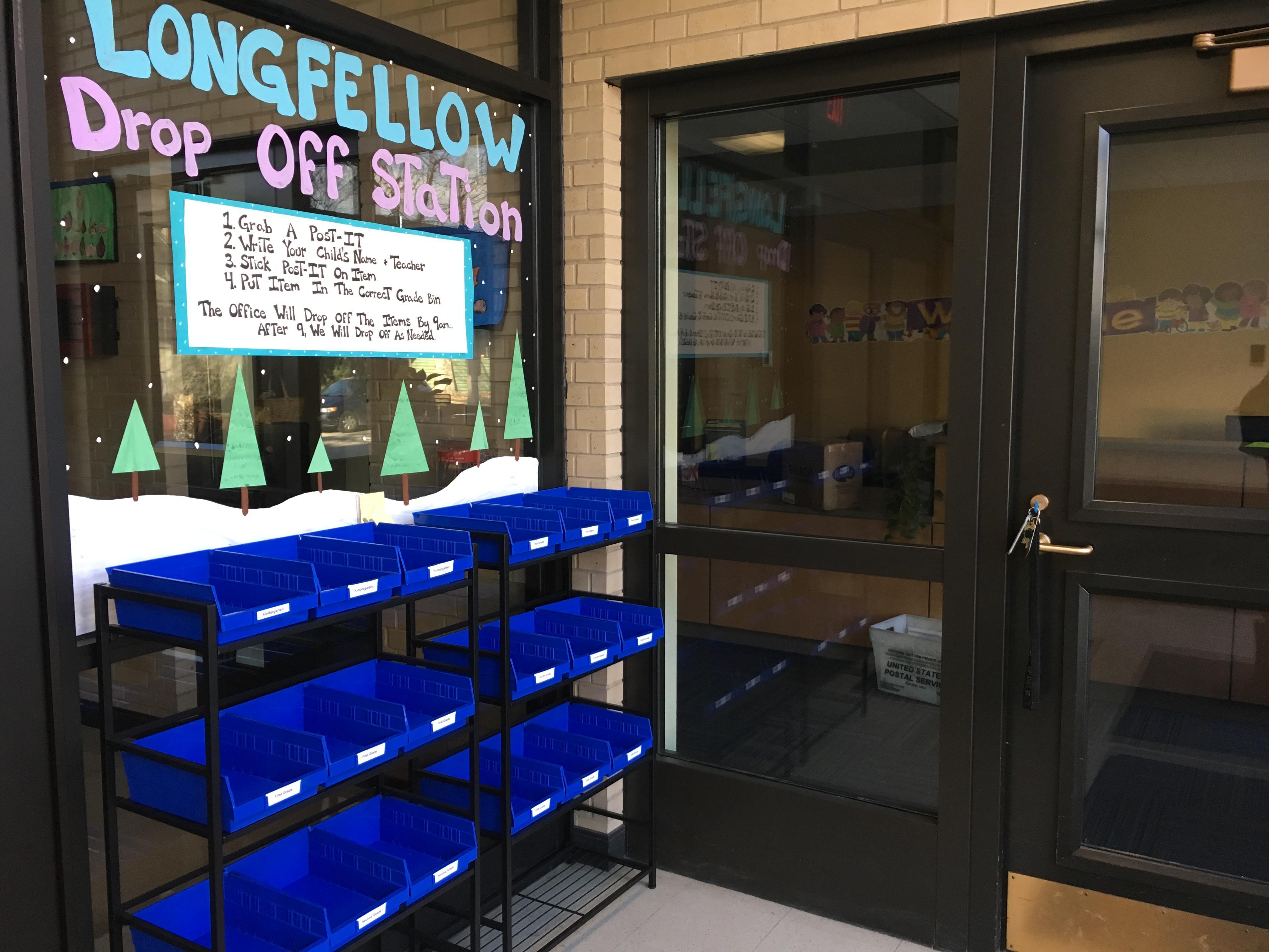 Longfellow drop-off station