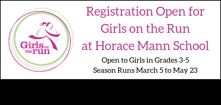 Mann PTO: Girls on the Run Information