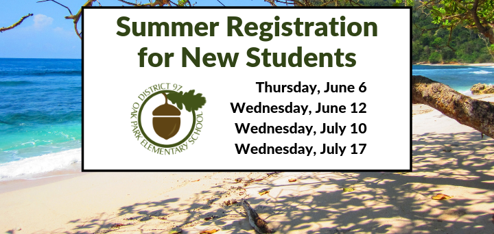 More Information about New Student Registration
