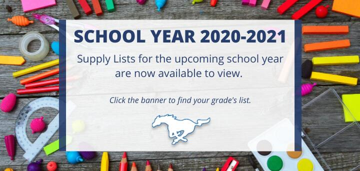 Click to Access the 20-21 School Year School Supply List for Mann