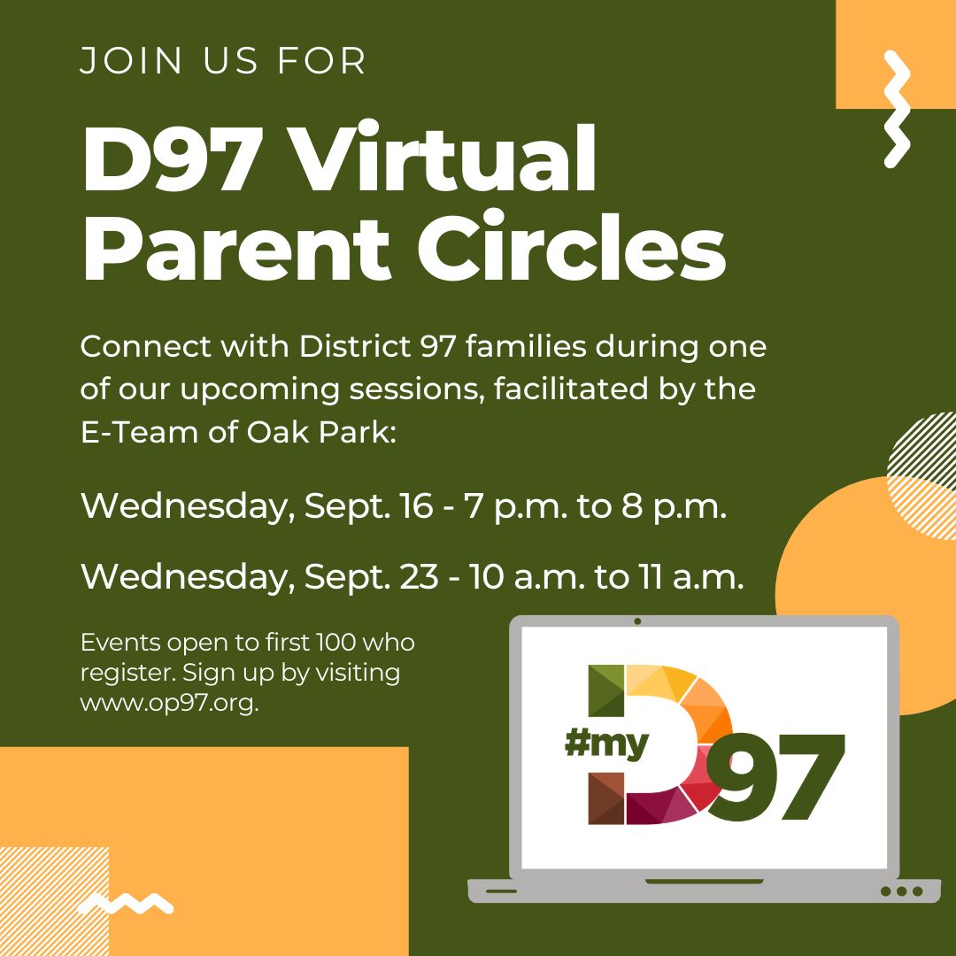 Photo: Virtual parent circles will be held Sept. 16 and 23