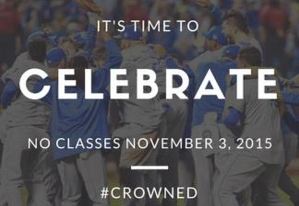 Donnelly College Classes Canceled Tuesday, Nov. 3, for Royals Celebrations