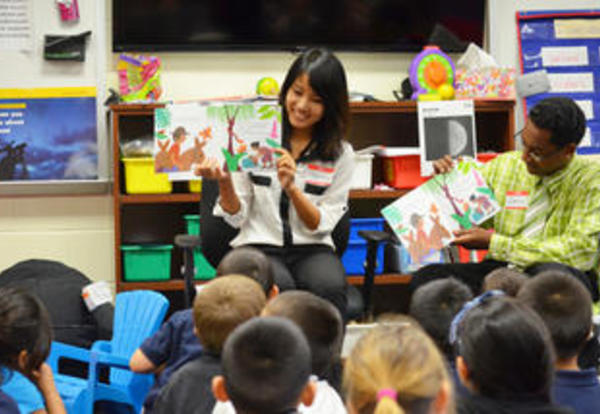 Community Partnership Builds Love for Literacy
