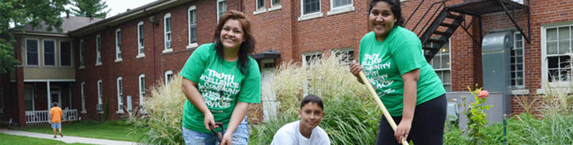 Service Learning at Donnelly College