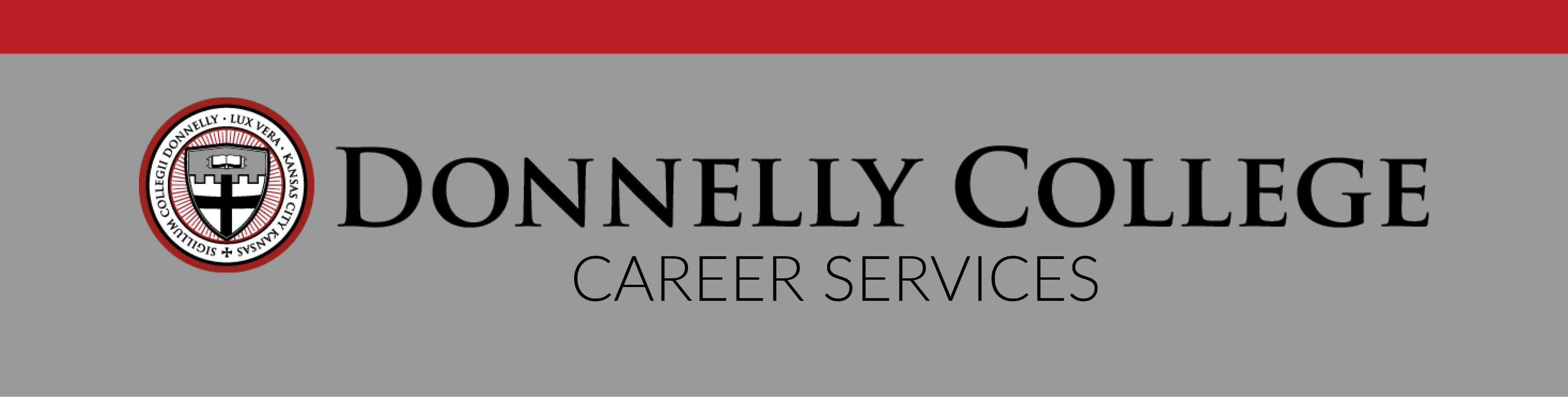 Donnelly College Career Services logo