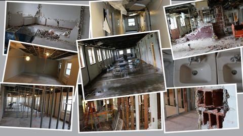 Marian Hall Renovations - Before & After Photos Slide 22