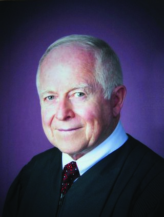Headshot photo of Judge Thomas Clark