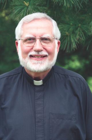 Headshot photo of Fr. Dennis Wait